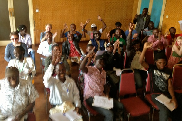 Speaking at music events: The Uganda edition