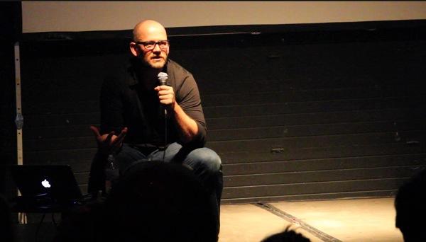 Speaking as a film maker…